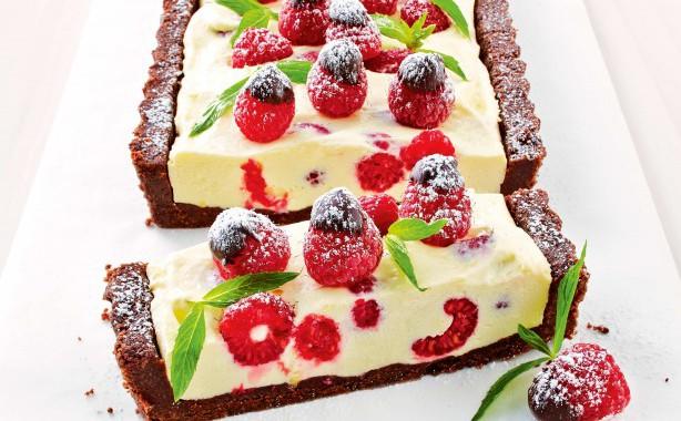 chocolate-and-raspberry-cheesecake-2