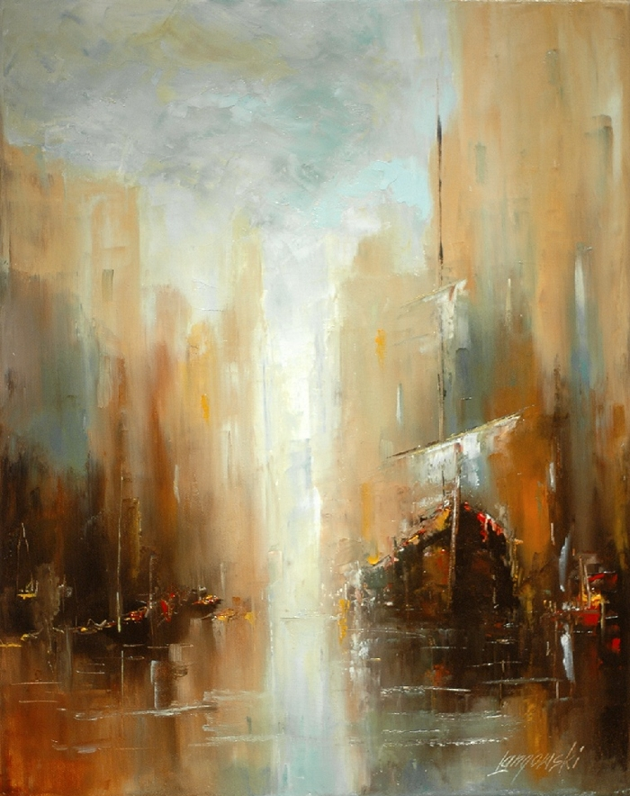 Marek Langowski - Polish Impressionist Landscapes painter - Tutt'Art@ (1)
