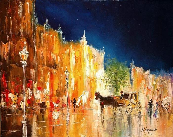 Marek Langowski - Polish Impressionist Landscapes painter - Tutt'Art@ (14)