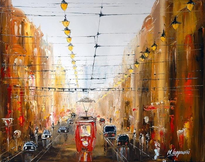 Marek Langowski - Polish Impressionist Landscapes painter - Tutt'Art@ (16)