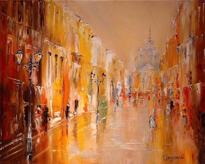 Marek Langowski - Polish Impressionist Landscapes painter - Tutt'Art@ (18)