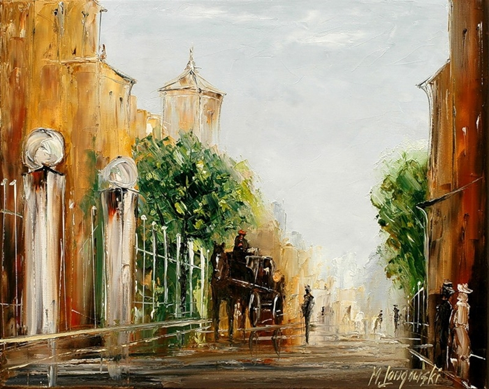 Marek Langowski - Polish Impressionist Landscapes painter - Tutt'Art@ (20)