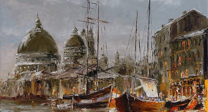 Marek Langowski - Polish Impressionist Landscapes painter - Tutt'Art@ (21)