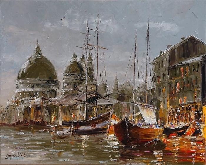 Marek Langowski - Polish Impressionist Landscapes painter - Tutt'Art@ (21)