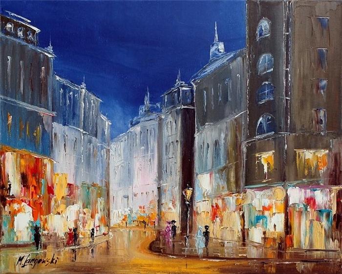 Marek Langowski - Polish Impressionist Landscapes painter - Tutt'Art@ (22)