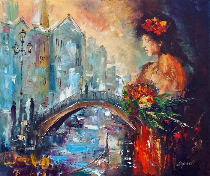 Marek Langowski - Polish Impressionist Landscapes painter - Tutt'Art@ (29)