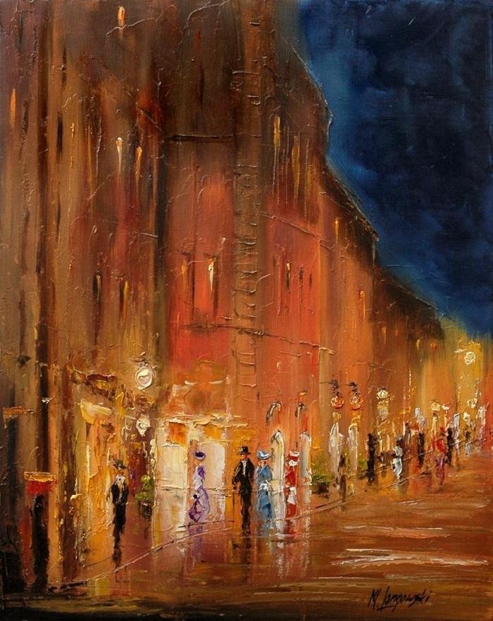 Marek Langowski - Polish Impressionist Landscapes painter - Tutt'Art@ (4)