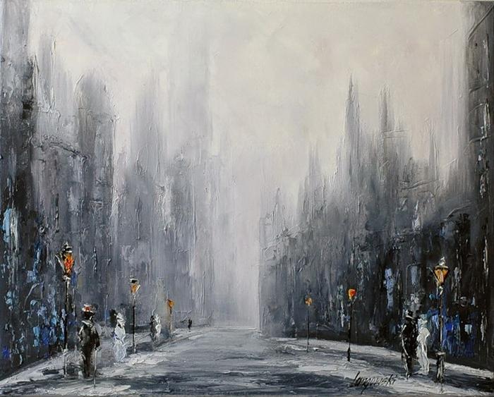 Marek Langowski - Polish Impressionist Landscapes painter - Tutt'Art@ (40)