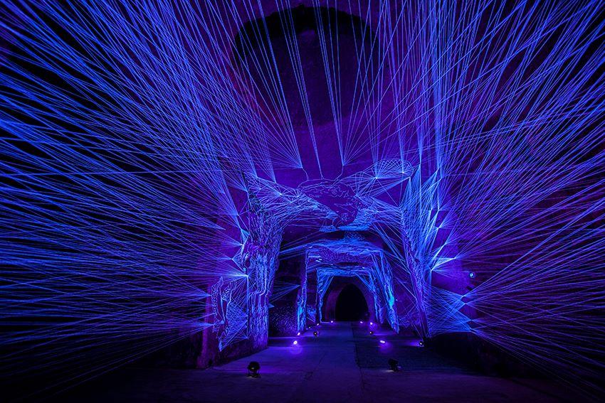 Рисунок светящийся в ультрафиолете