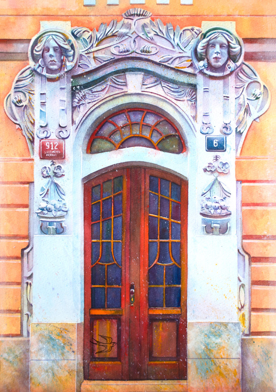 watercolor-door-prague-2