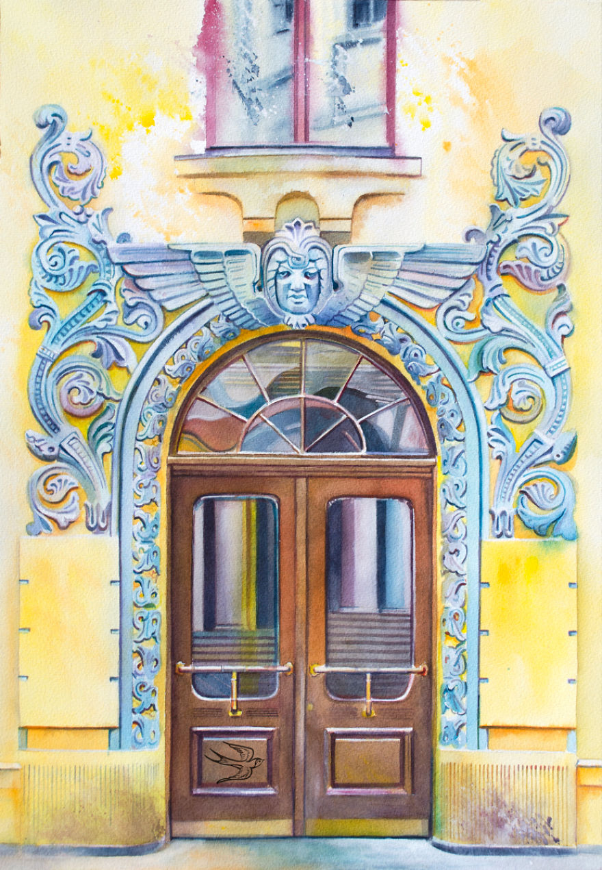 watercolor-door-riga