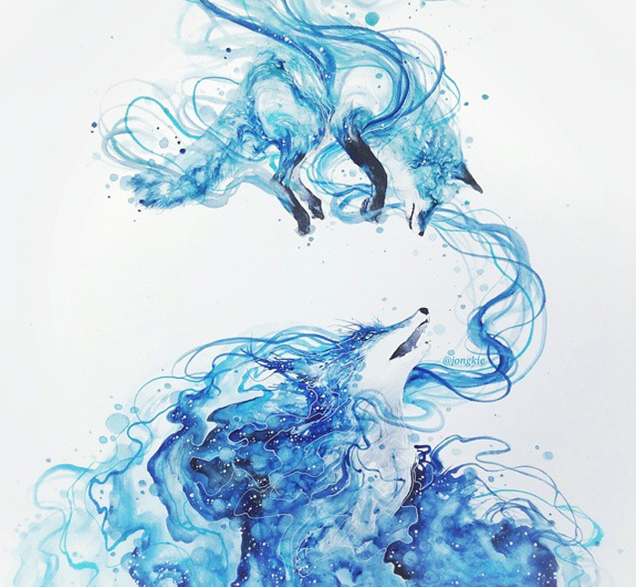 Watercolor-Lead-Me-To-Make-An-Expressive-And-Whimsical-Animal-Illustration14__700