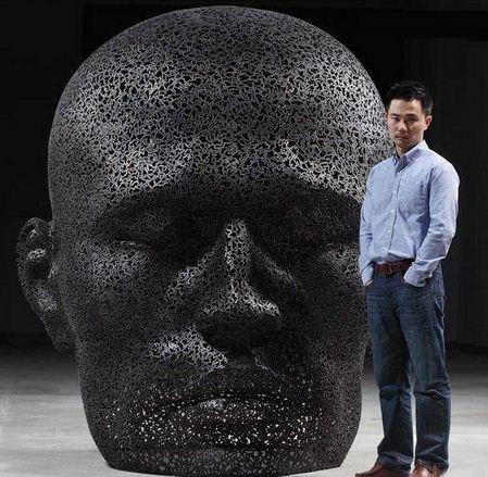 Yeong-Deok-Seo.-Skulpturyi-iz-velosipednoy-tsepi