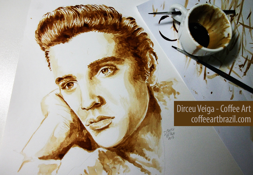 coffee-art-elvis-presley