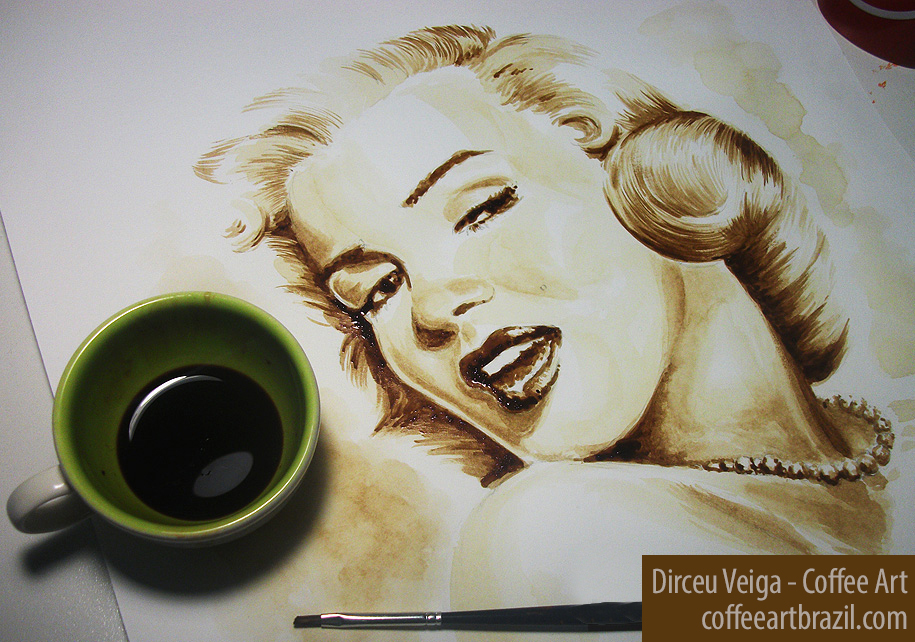 coffee-art-marlyn_monroe